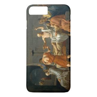 Der Tod von SOCRATES durch Jacques-Louis David iPhone 8 Plus/7 Plus Hülle