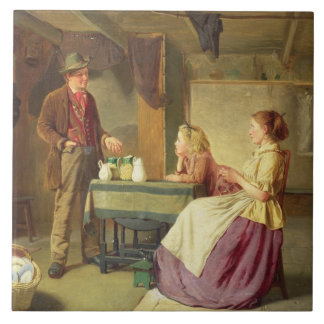 Der Töpfer, 1876 (Öl auf Leinwand) Fliese