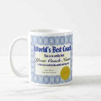 Der Trainer-Zertifikat-Tasse der Welt beste Tasse