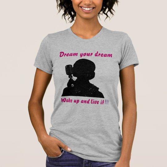 Der Traum der Frauen Ihr Traumt-shirt T-Shirt