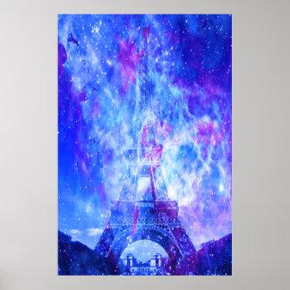 Der Traum des Liebhabers. Paris Poster