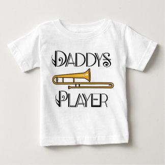 Der Trombone-Spieler-Kleinkind des Baby T-shirt