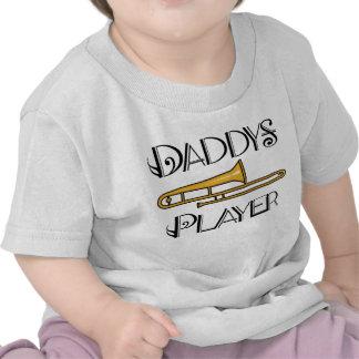 Der Trombone-Spieler-Kleinkind des Vatis/Säuglings Hemd