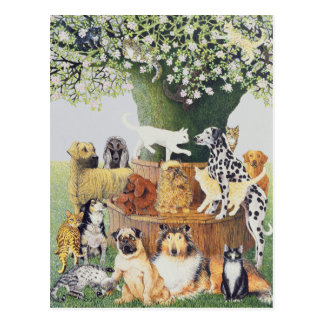 Der Trysting Baum Postkarte