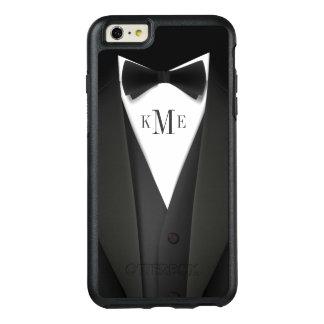 Der Tuxedo-Anzugs-Blick-Monogramm-Initialen der OtterBox iPhone 6/6s Plus Hülle
