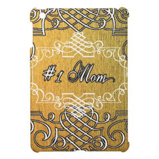 der Typografie-Mutter der Mammas #1 der goldene Hülle Für iPad Mini
