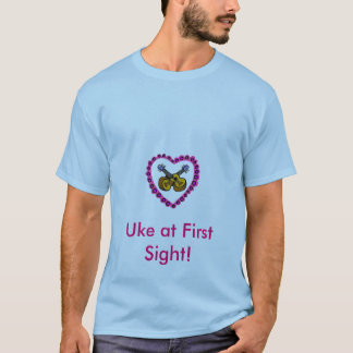 Der Ukulele des Valentinsgrußes T-Shirt