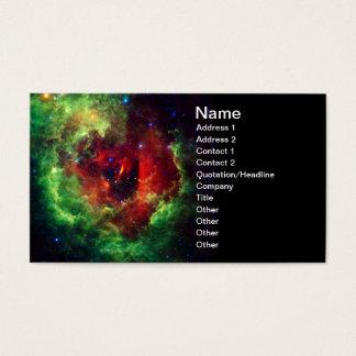 Der unicorns-Rosen-Rosette-Nebelfleck Visitenkarte