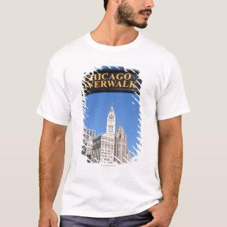 Der unterscheidende Entwurf und das clocktower von T-Shirt