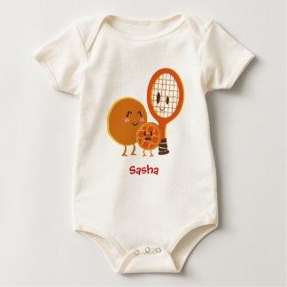 Der Ursprung des Waffelbabys Baby Strampler