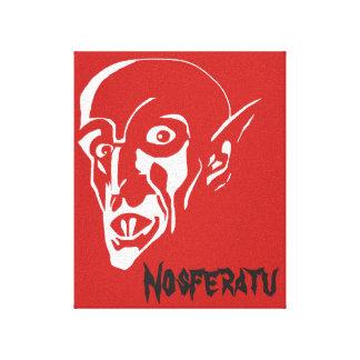 Der Vampir Nosferatu Leinwanddruck