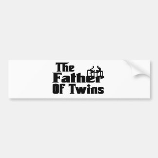 Der VATER der Zwillinge Autosticker