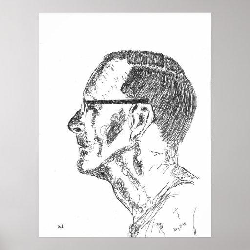 Der Vater des Künstlers Plakat