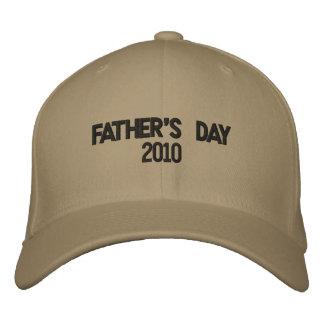 Der Vatertag 2010 Bestickte Baseballkappe