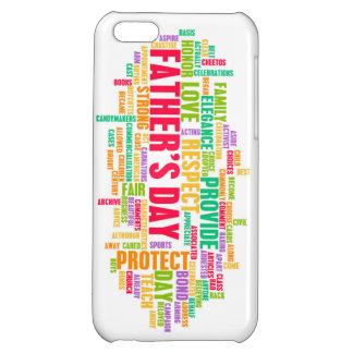 Der Vatertag als spezieller Tag mit Wörtern Hüllen Für iPhone 5C