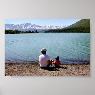 Der Vatertag am Kenai Staatsangehörig-Schutzgebiet Posterdrucke
