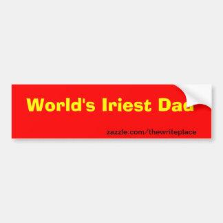 Der Vatertag Autosticker