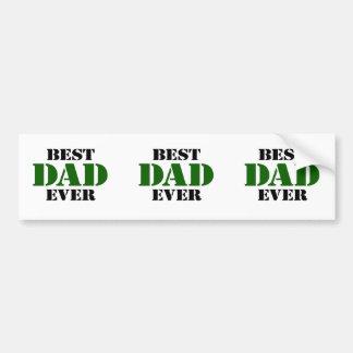 Der Vatertag Autoaufkleber