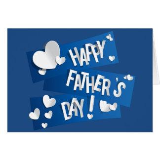 """Der Vatertag """"der glückliche Vatertag"""" - fertigen Grußkarte"""