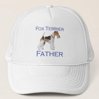 Der Vatertag Draht-Foxterrier- Truckerkappe