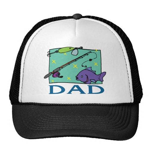 Der Vatertag Fischen-Vati- Baseballcaps