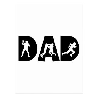 Der Vatertag Fußball-Vati- Postkarten