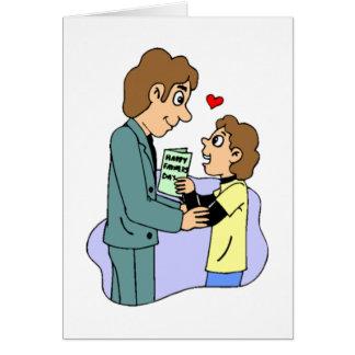 Der Vatertag Grußkarte