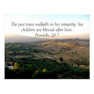 Der Vatertag Italien u. Schrifts-Geschenke Postkarten