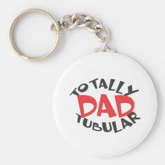 Der Vatertag Keychain Standard Runder Schlüsselanhänger
