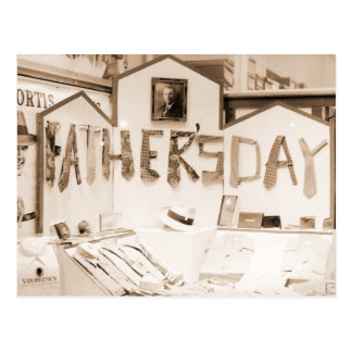Der Vatertag Postkarte