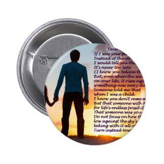 Der Vatertag Runder Button 5,7 Cm