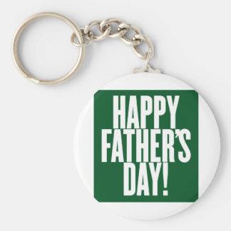 der Vatertag Standard Runder Schlüsselanhänger