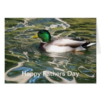 Der Vatertag Stockenten-Enten- Grußkarten