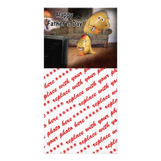 Der Vatertag - Stubenhocker u. die späte Show Photokarte