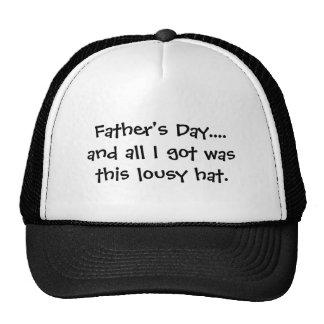 Der Vatertag….und aller, den ich erhielt, war dies Cap