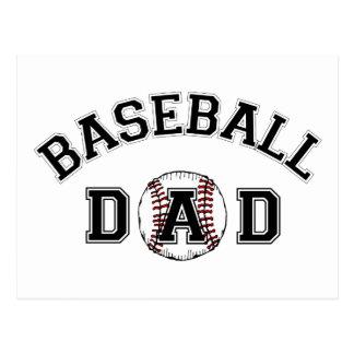 Der Vatertags-Baseball-Vati Postkarten