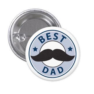 Der Vatertags-bester Vati Anstecknadelbuttons