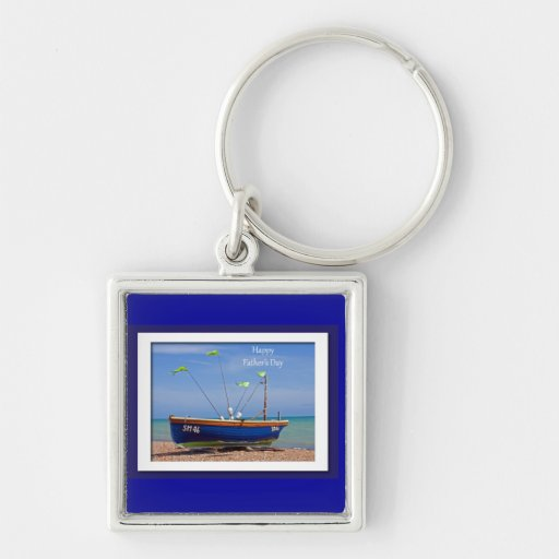 Der Vatertags-Blau-Boot Schlüsselband