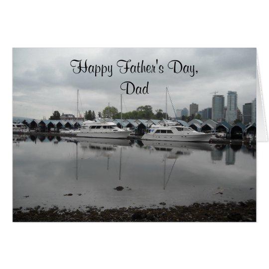 Der Vatertags-Bootfahrt-Szene Karte