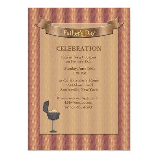 Der Vatertags-Einladung Edelstein-Schutzträger- 12,7 X 17,8 Cm Einladungskarte