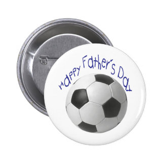 Der Vatertags-Fußball-Geschenke Anstecknadelbutton