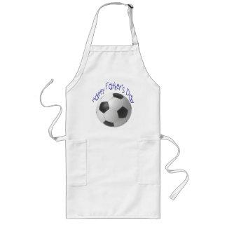 Der Vatertags-Fußball-Geschenke Lange Schürze