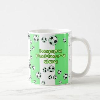 Der Vatertags-Fußball-Tasse Tasse