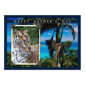 Der Vatertags-Geschenke 12,7 X 17,8 Cm Einladungskarte