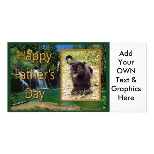 Der Vatertags-Geschenke Fotokartenvorlagen
