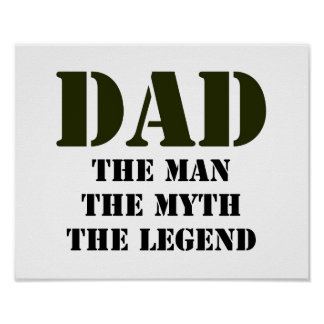 Der Vatertags-Geschenke Poster