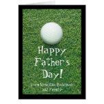 Der Vatertags-Golf-Gruß-Karte
