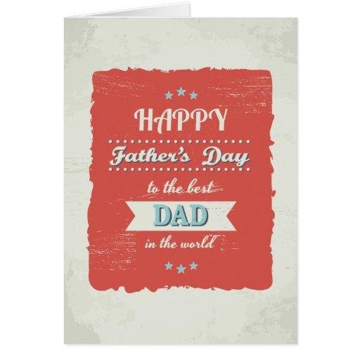 Der Vatertags-Gruß-Karte