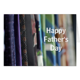 Der Vatertags-Gruß-Karte Krawatten-Foto- Karte