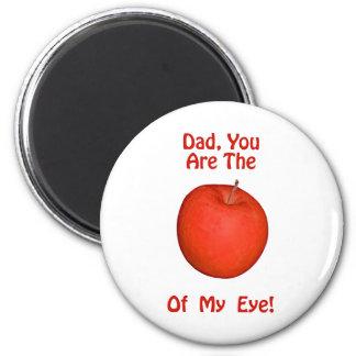 Der Vatertags-Gruß-Karten u. Geschenke Runder Magnet 5,7 Cm